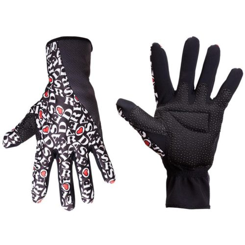 DE ROSA REVO winter gloves black-0