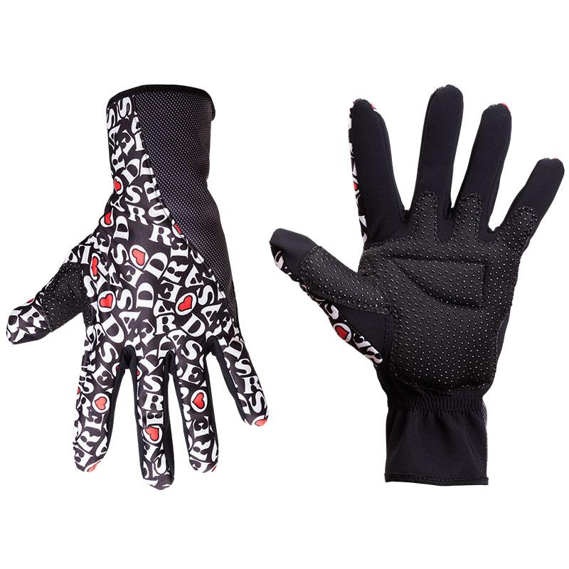 DE ROSA REVO winter gloves black-0